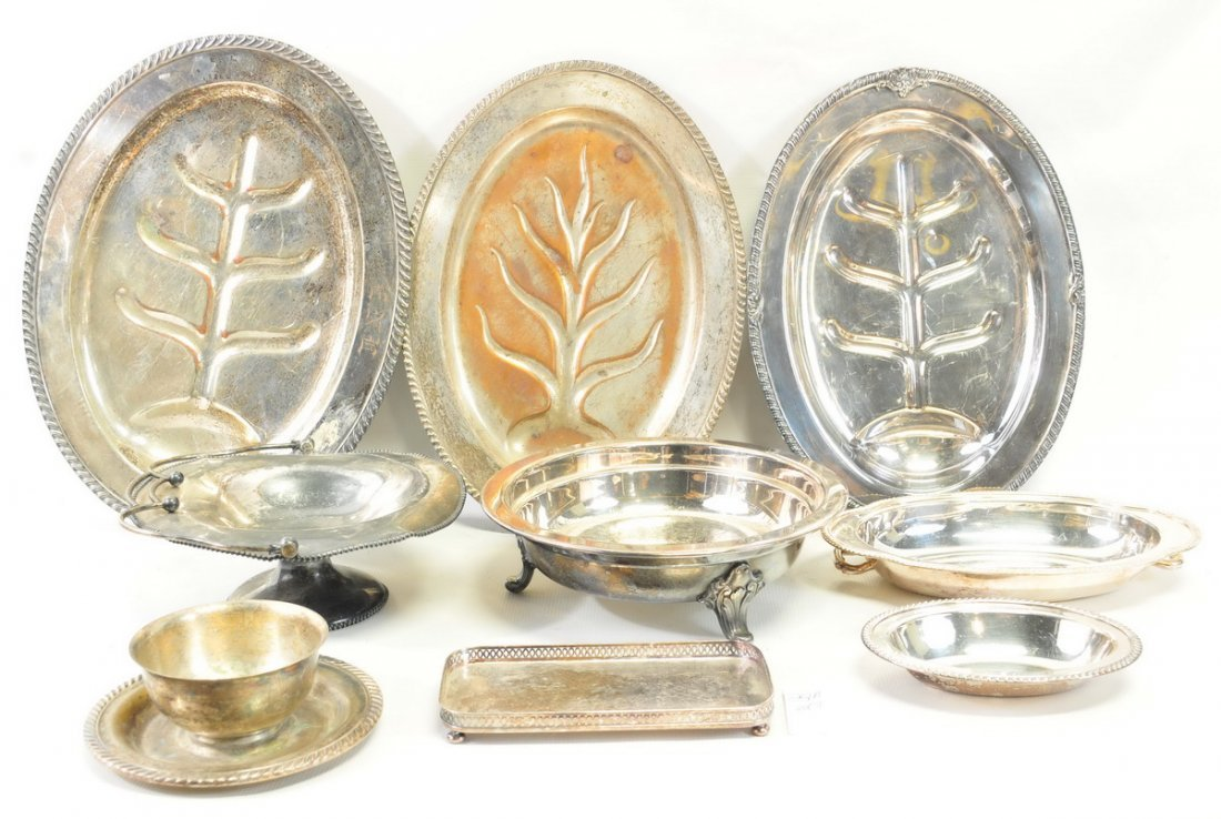 Three Boxes of Estate Silverplate - 4