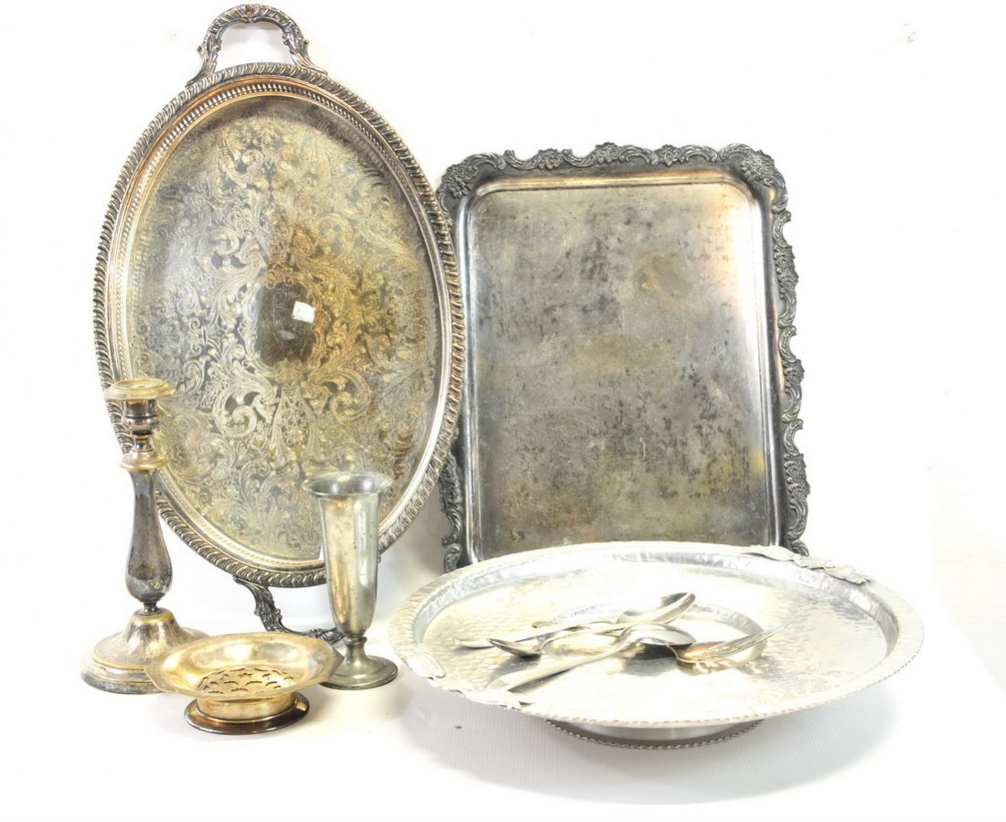 Three Boxes of Estate Silverplate - 5