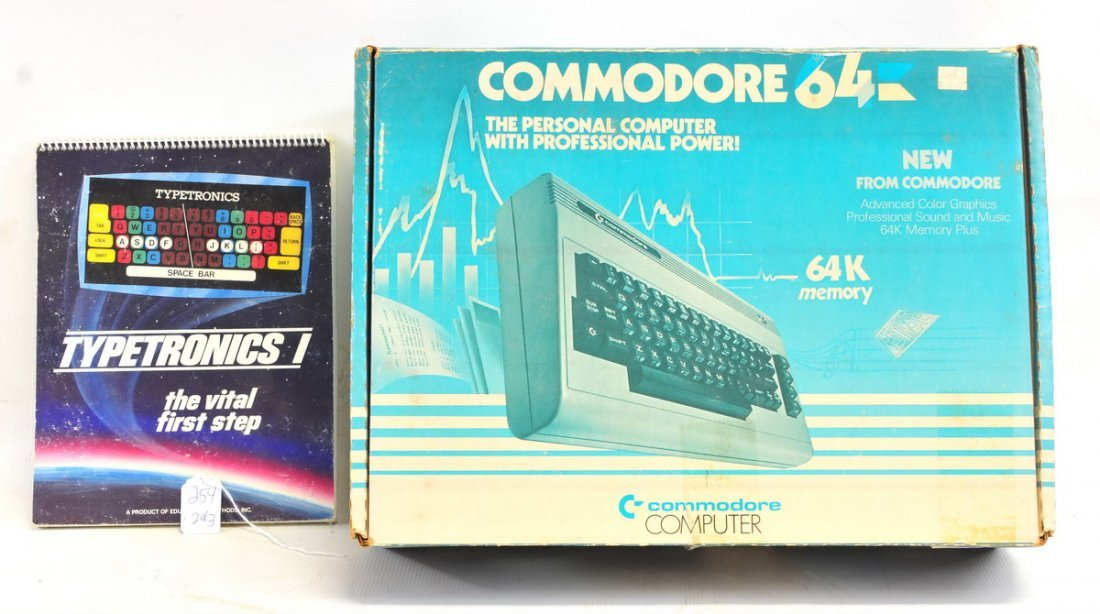 Two Commodore 64 Computers