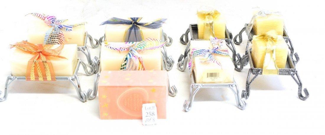 Three Boxes of estate Tins - 2