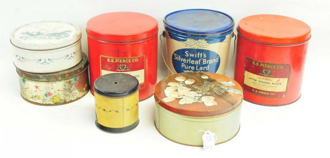 Three Boxes of estate Tins - 3