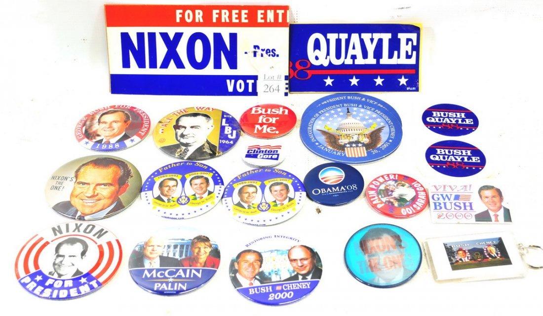 Vintage Political Buttons