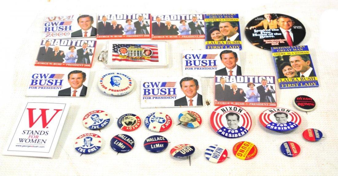 Vintage Political Buttons - 2