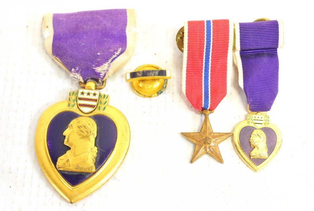 US Named Purple Heart with Insignia