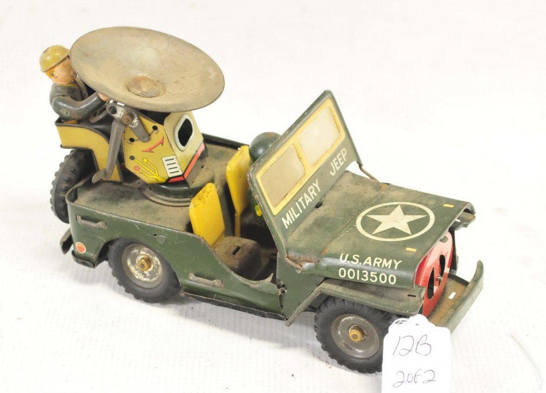 Estate Vintage Tin Litho Battery Operated Toys