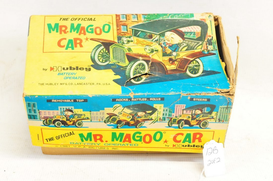 Estate Vintage Tin Litho Battery Operated Toys - 2
