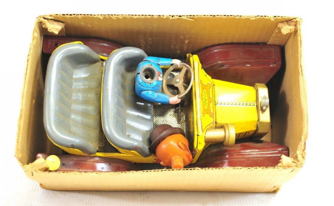 Estate Vintage Tin Litho Battery Operated Toys - 3