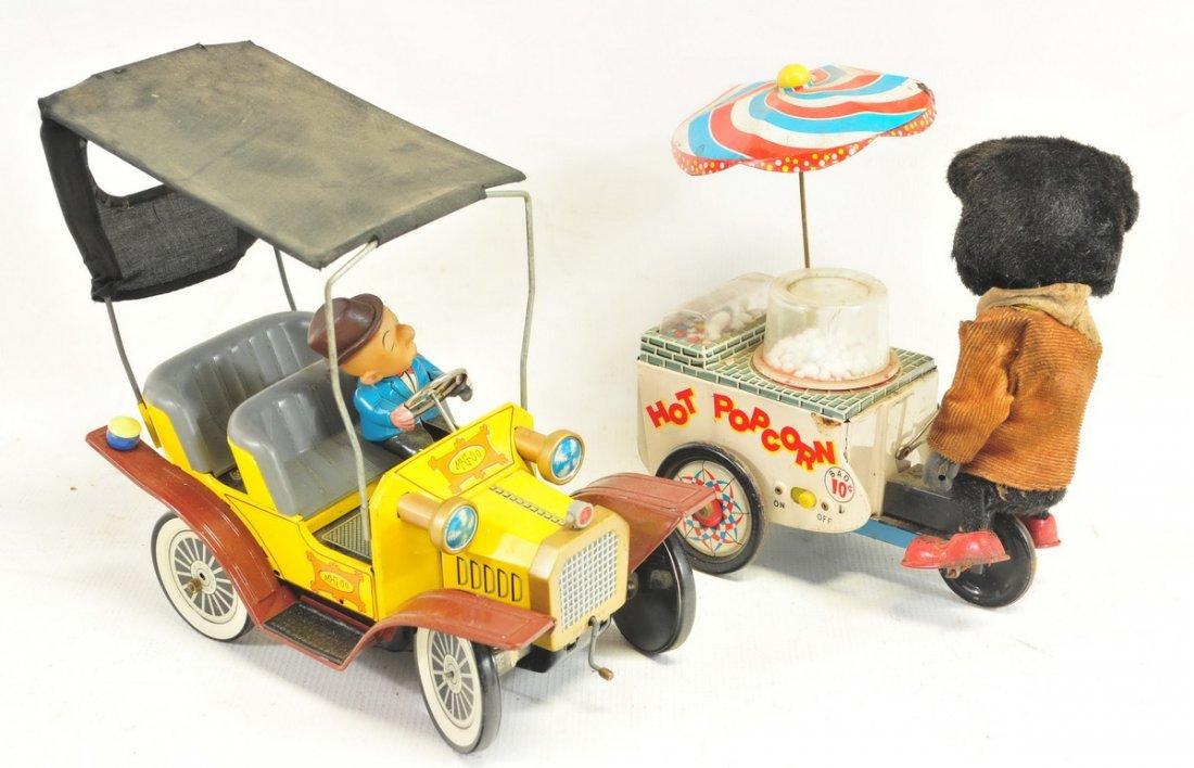 Estate Vintage Tin Litho Battery Operated Toys - 4