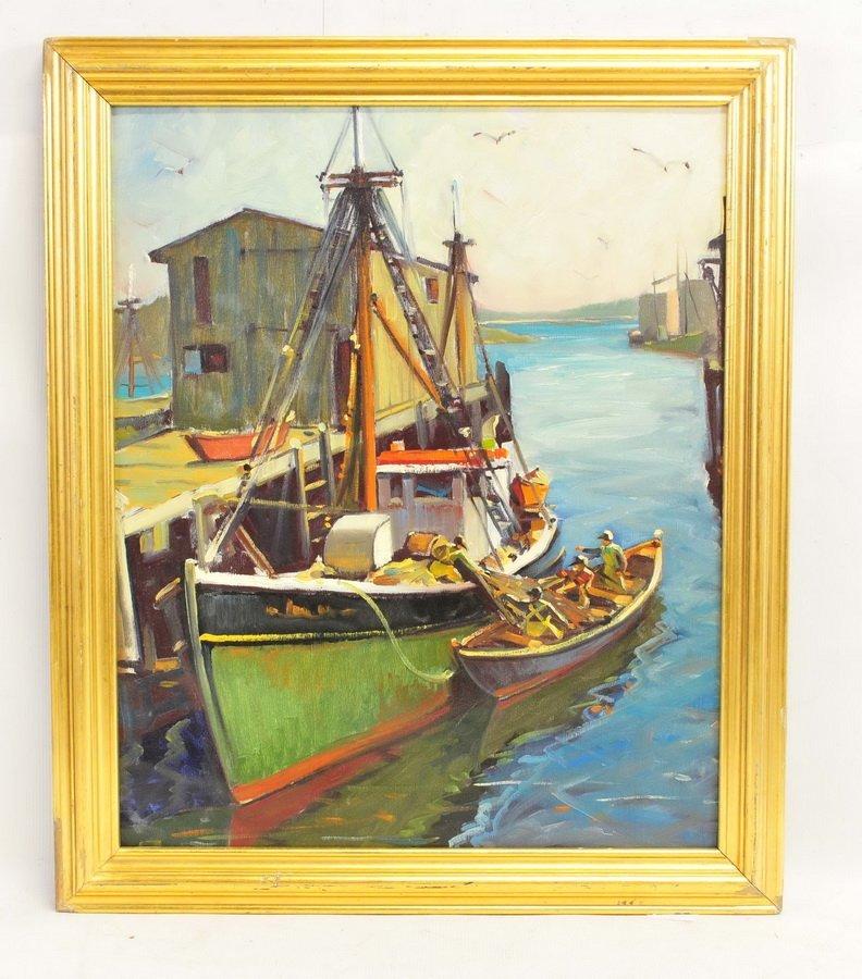 Oil On Canvas Paul Goodridge Gloucester
