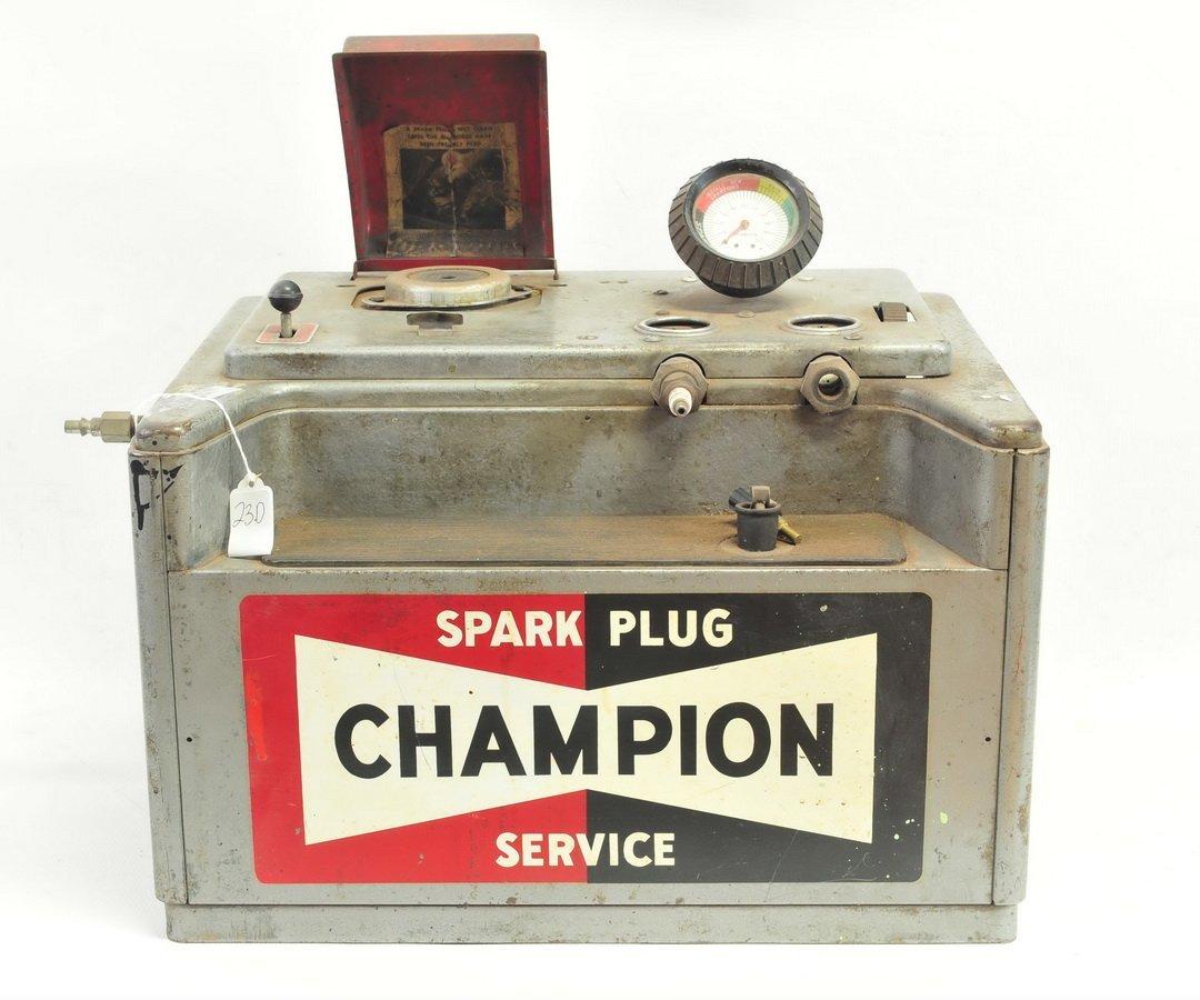 Vintage Champion Spark Plug Service Cleaner