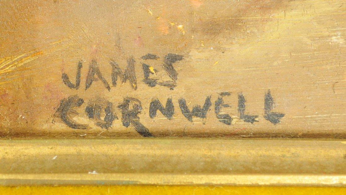 Oil Board Landscape James Cornwell - 2