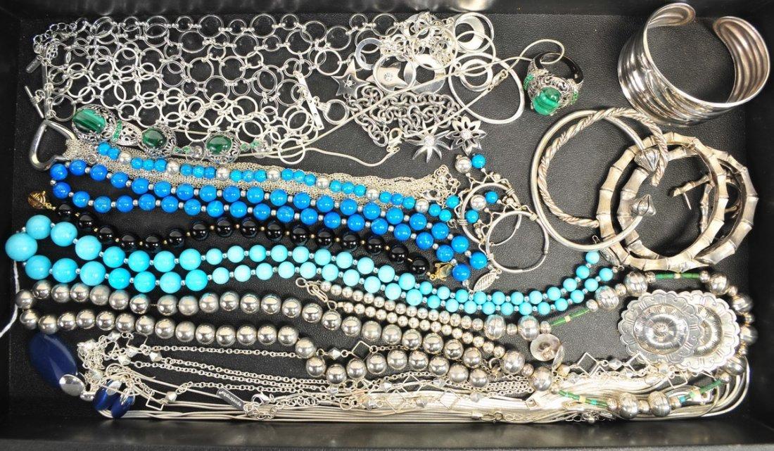 Vintage Costume/Estate Sterling Necklaces