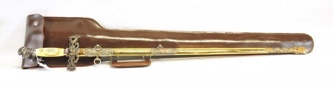 Vintage Masonic Ceremonial Sword