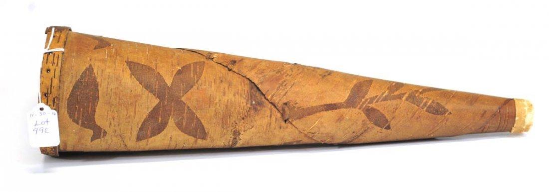 Antique Native American Birchbark Moose call