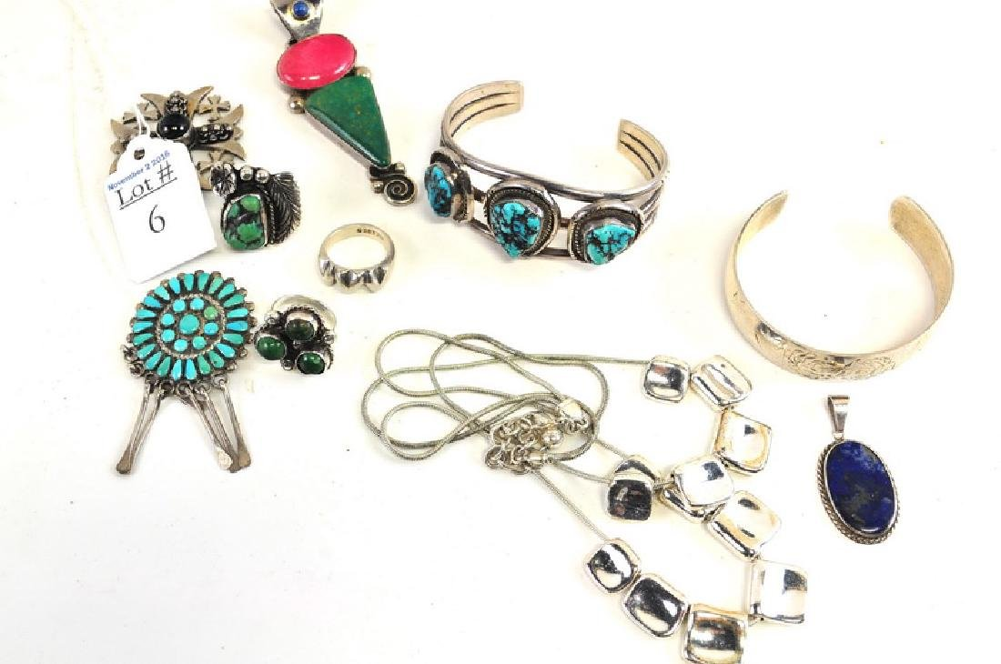 Sterling Silver Turquoise/Gemstone Jewelry
