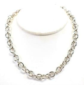 Tiffany & Co Ladies Sterling Necklace