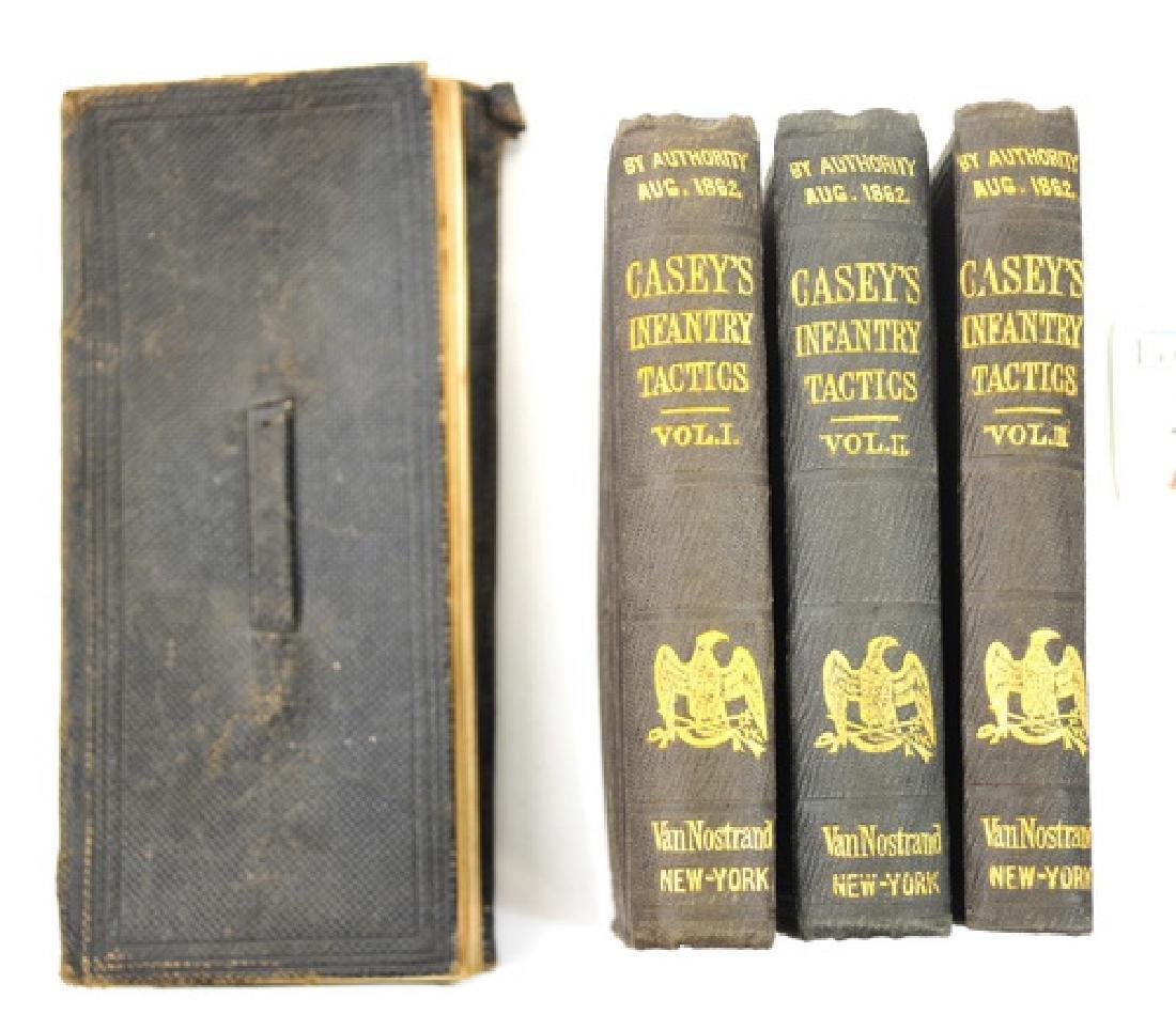 Civil War Era Books/Diary Casey's Infantry Tactics