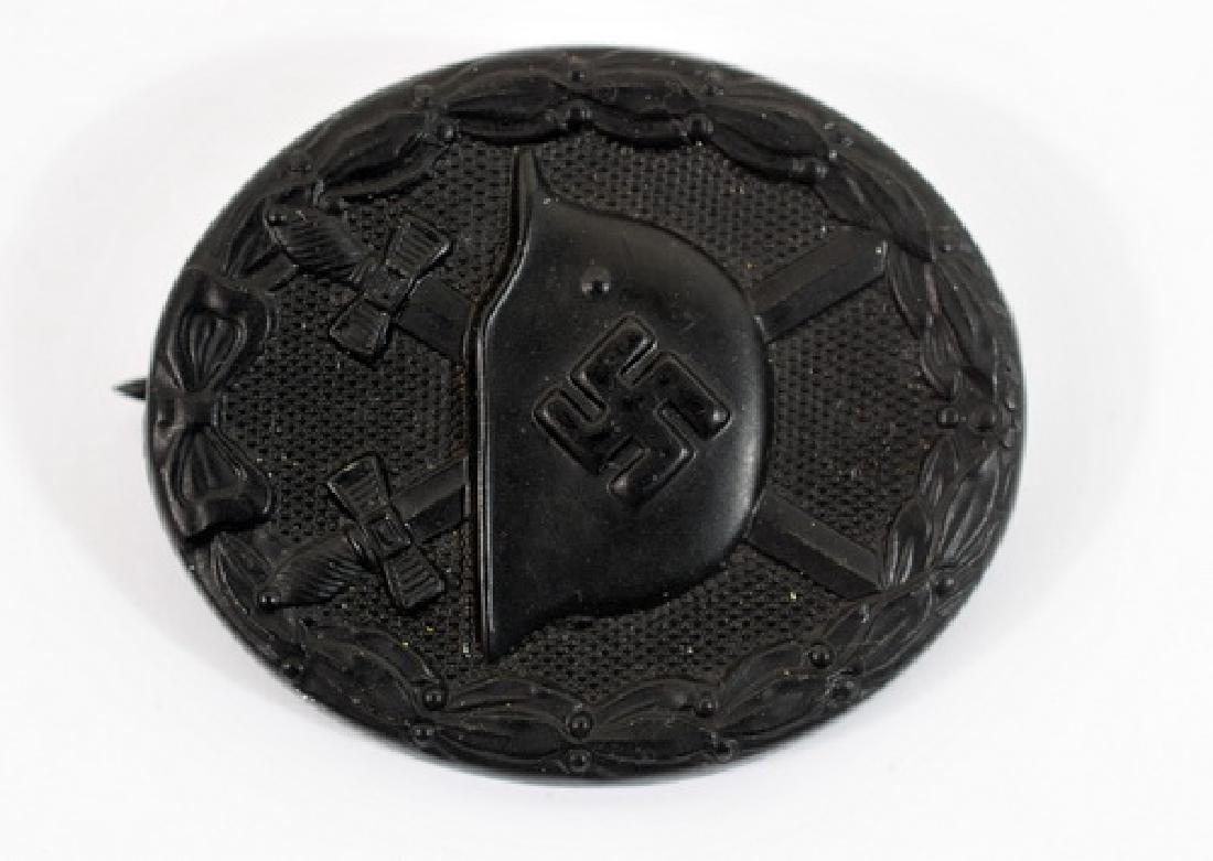 WWII Nazi Wound Badge Black Class