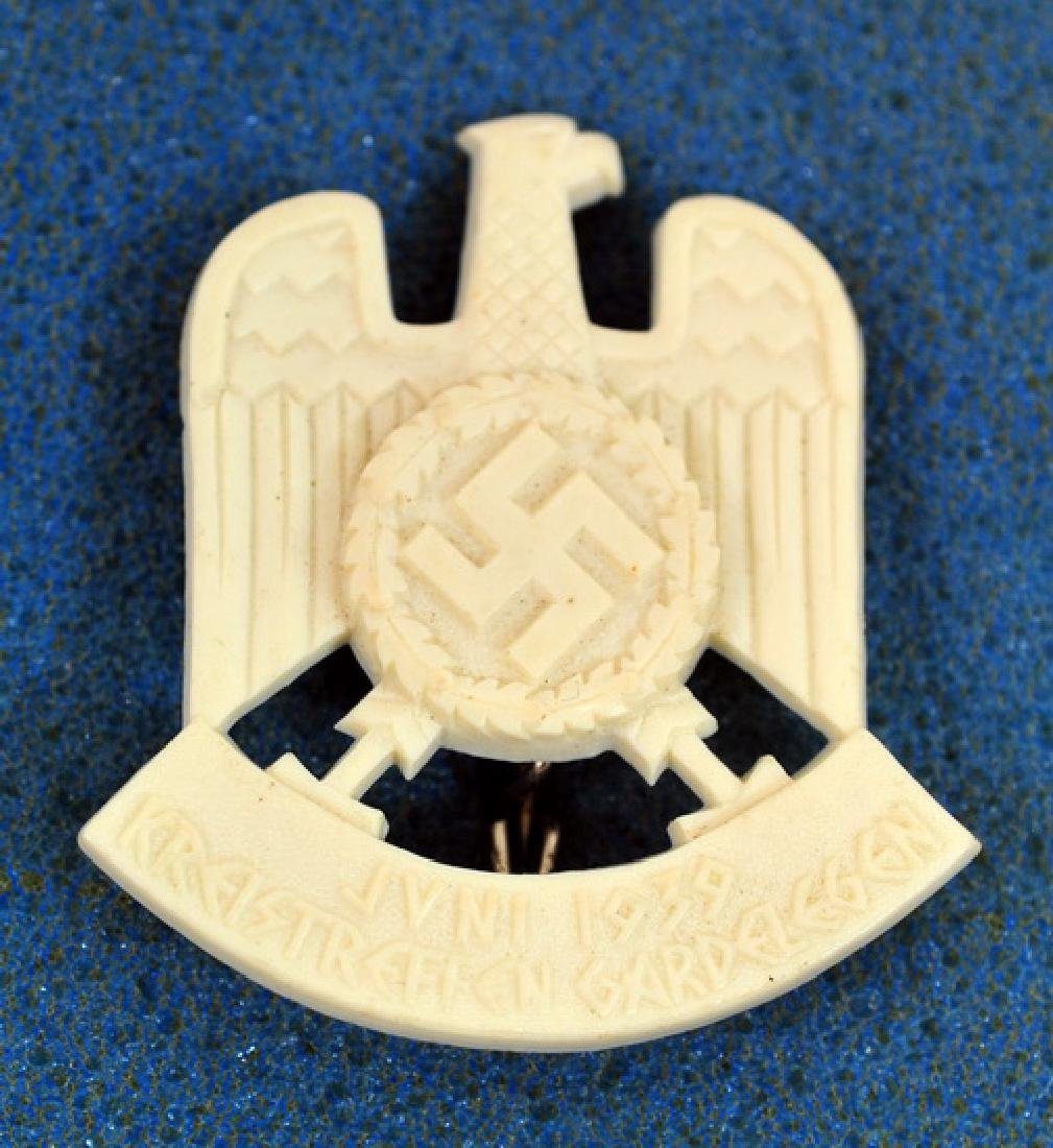 Nazi Party 1939 Meet Badge