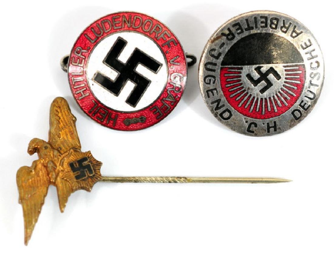 Early WWII Nazi Pins