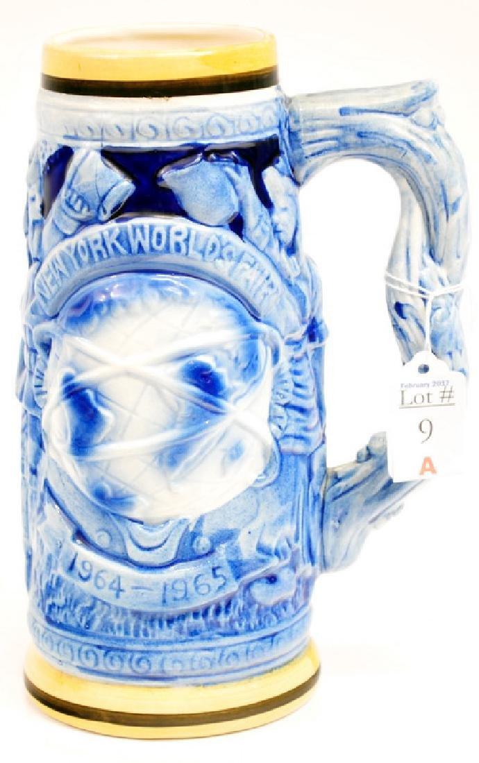 1965 NY World's Fair Porcelain Stein