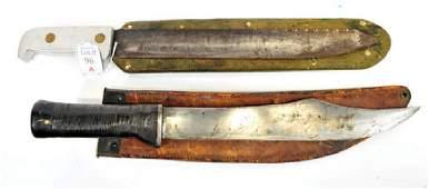 5 WWII Era Military Knives/Bayonets