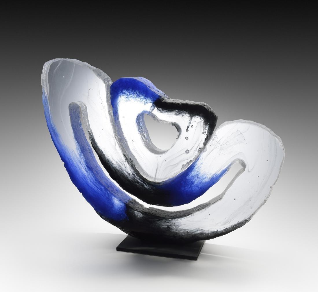 Colin Ried #R741 Art Glass Habatat