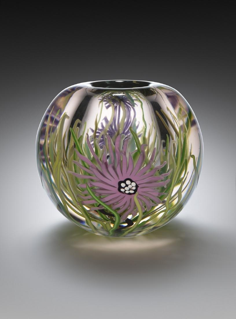 David Huchthausen A.A.C. Vessl Art Glass Habatat