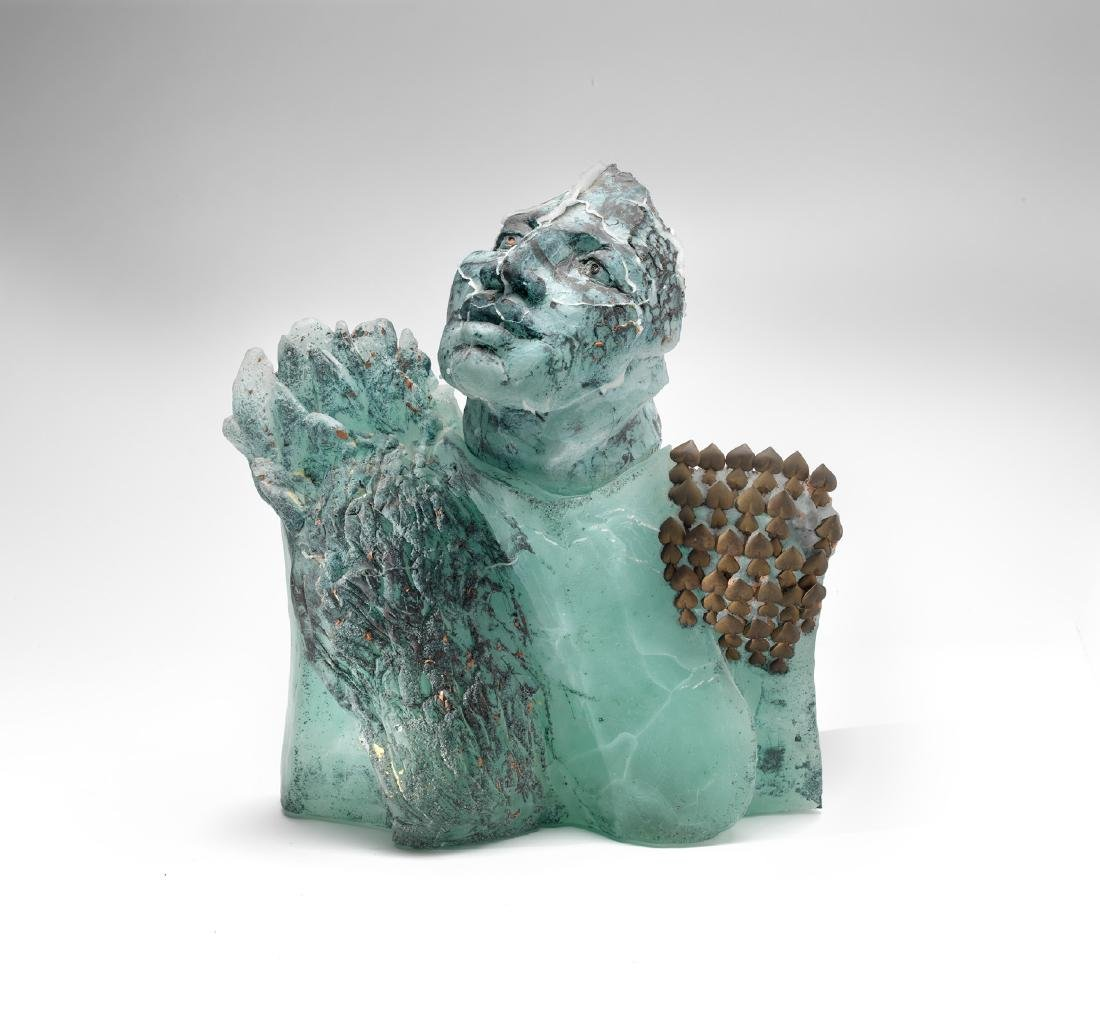 Irene Frolic Labyrinth Art Glass Habatat