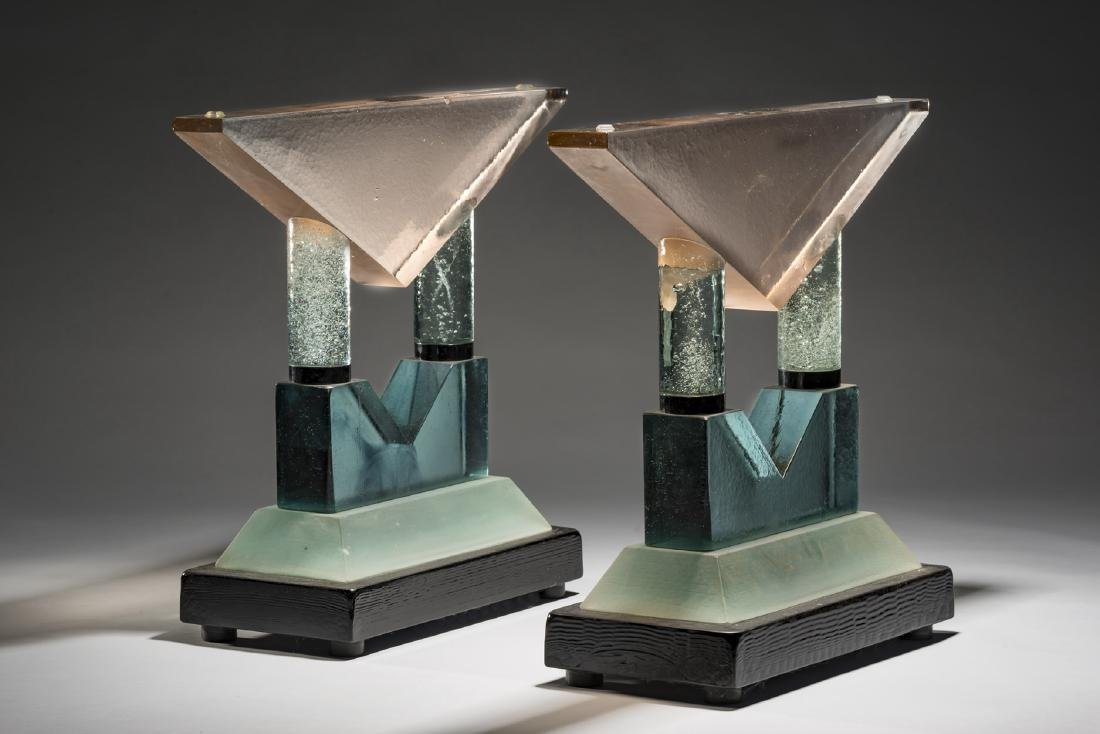 John Lewis Table Art Glass Habatat