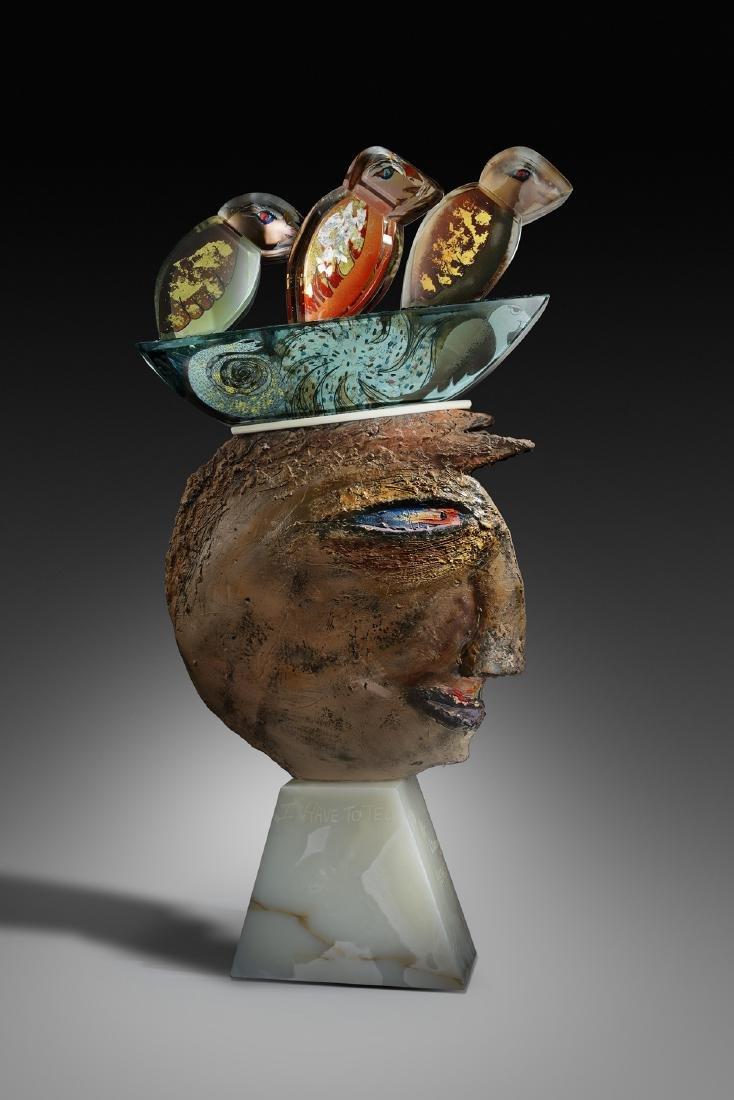 Robert Palusky Living Years Art Glass Habatat