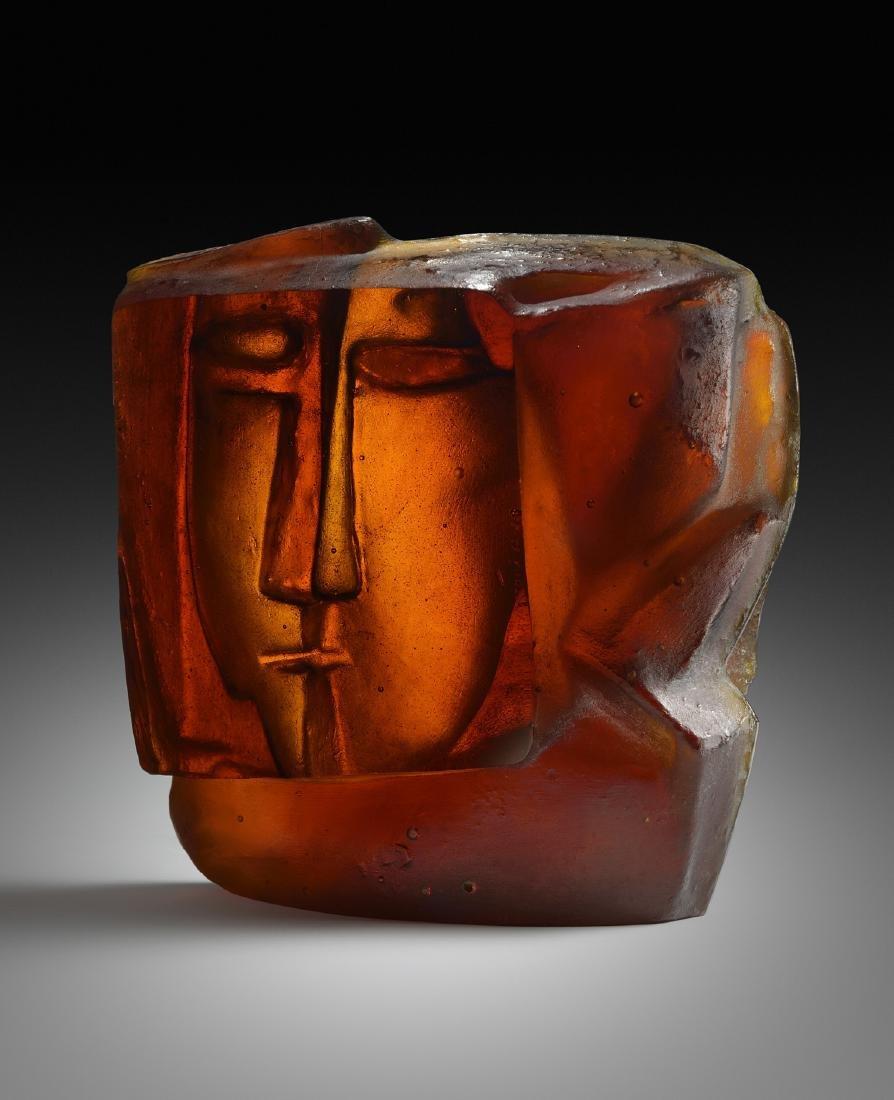Libensky Brychtova Hlava II 1962 Art Glass Habatat