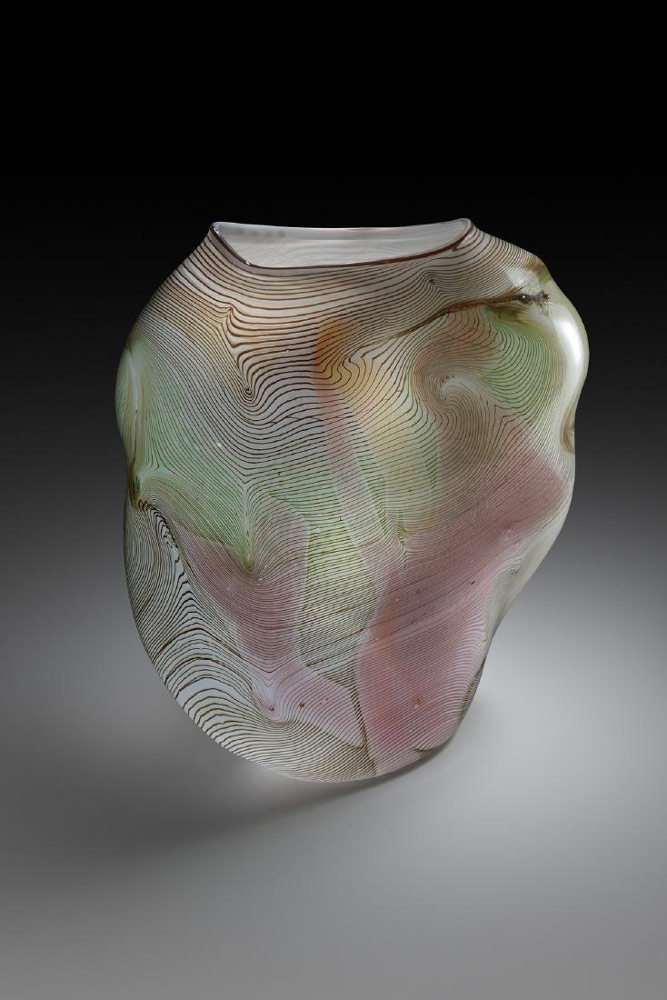 William Morris Blown Vessel Art Glass Habatat