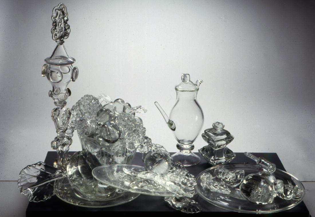 Beth Lipman Richly Laid Table Art Glass Habatat