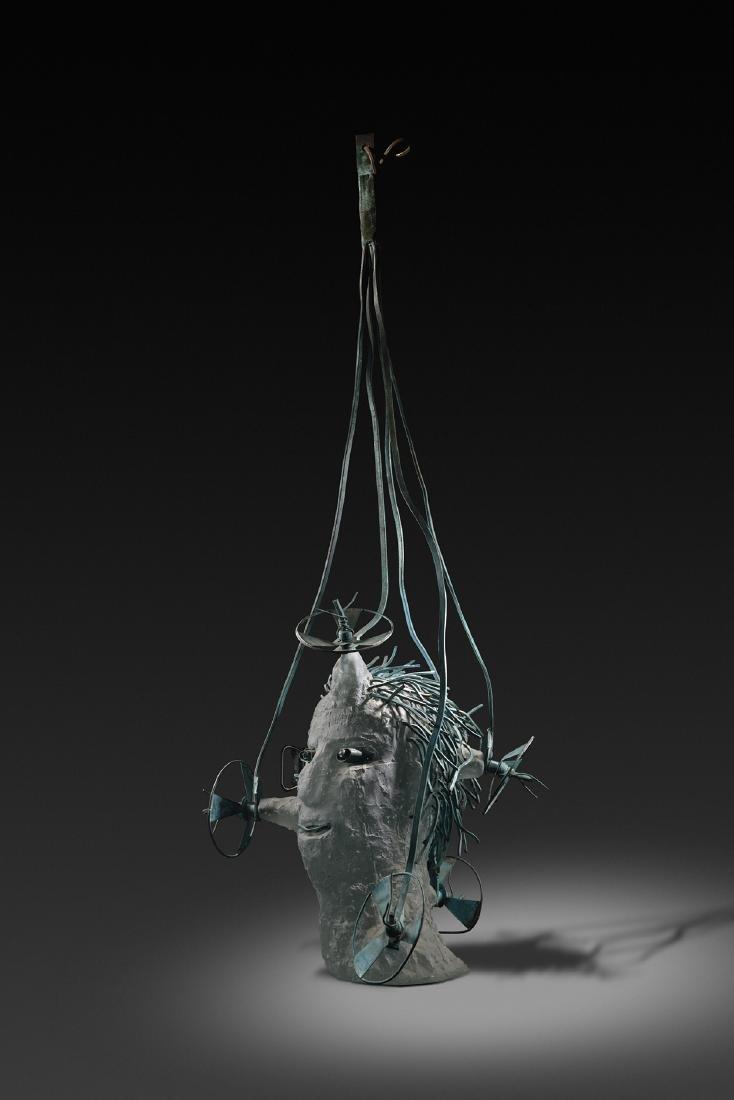Hank Murta Adams Aviator Art Glass Habatat