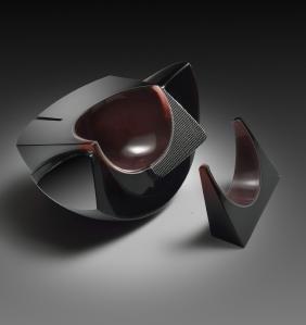 Kreg Kallenberger Number 147 Art Glass Habatat