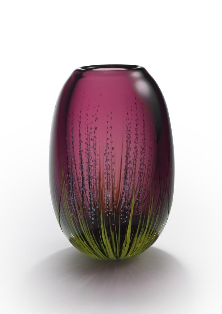 Mark Peiser Paperweight Vessel 084 Art Glass Habatat