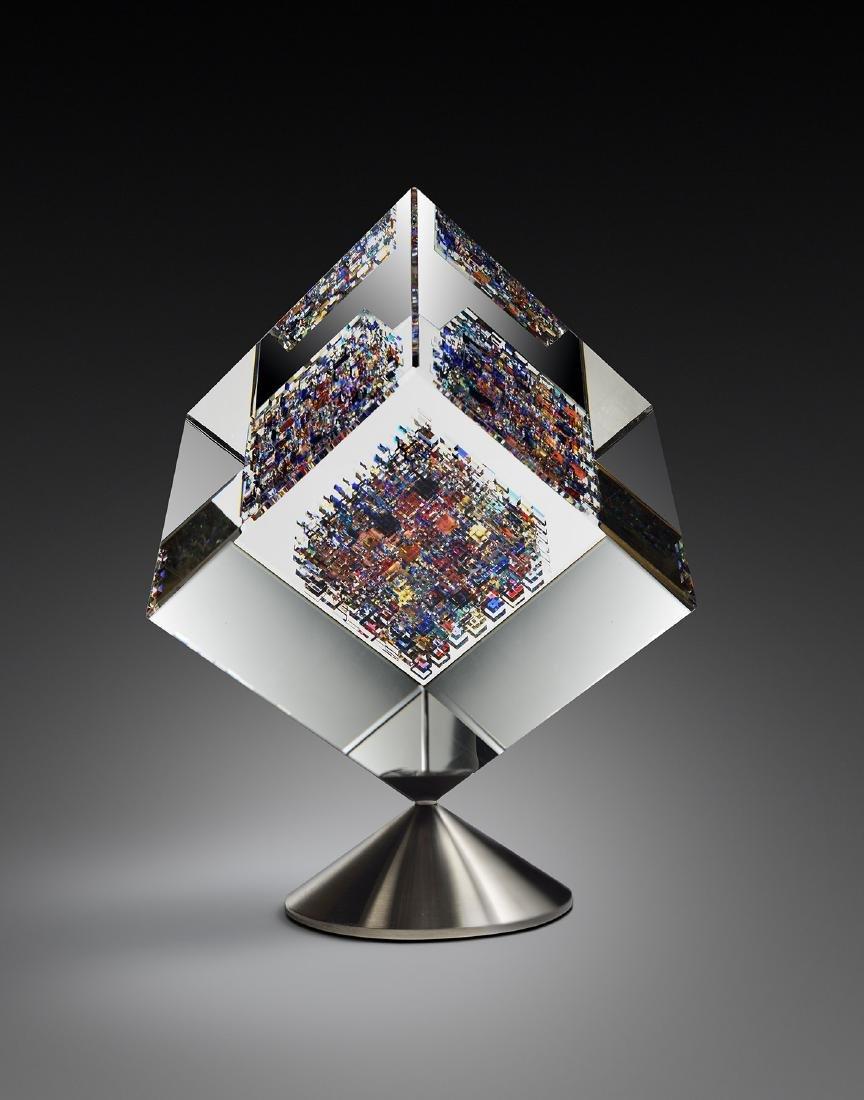 Jon Kuhn Midnight Jewel Habatat Art Glass