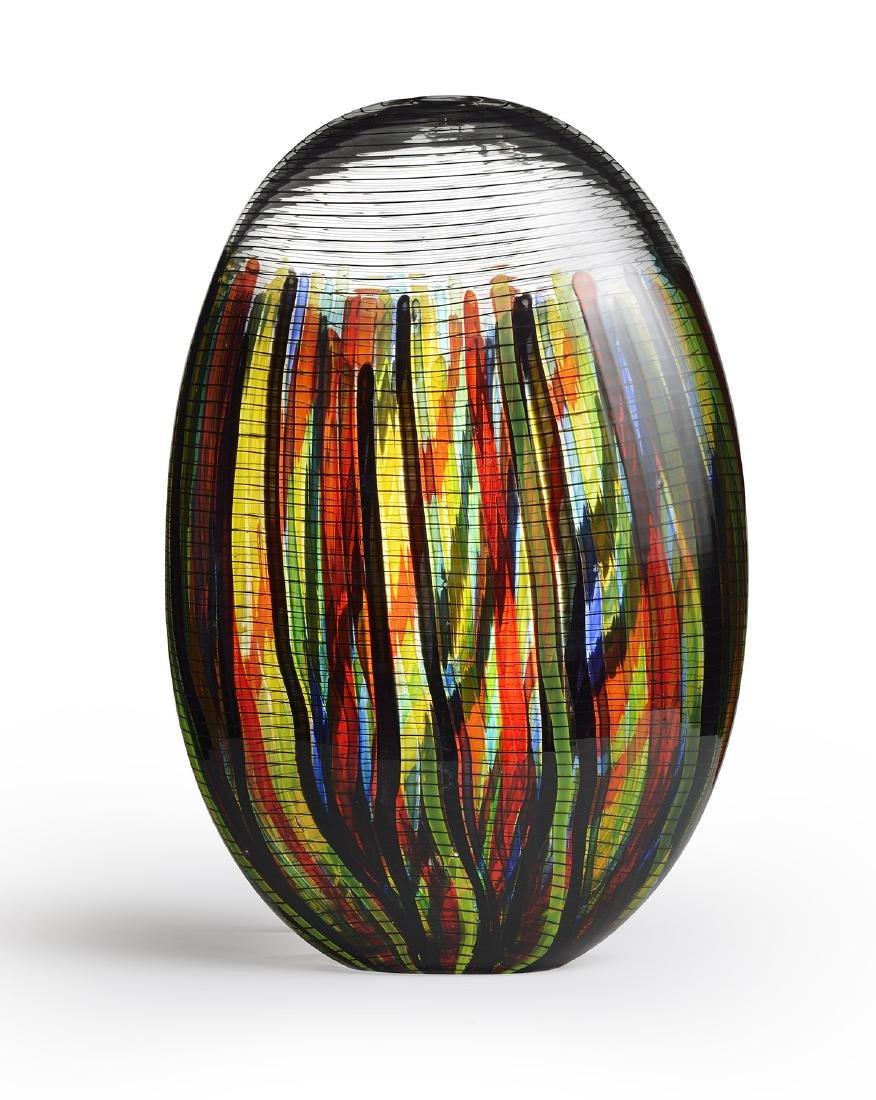 Lino Tagliapietra Algeri Blown Glass Habatat Art