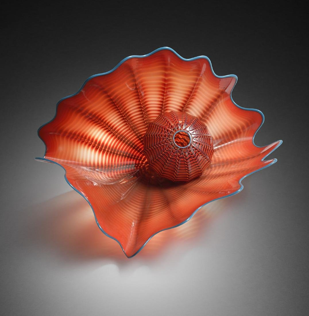 Dale Chihuly Red Persian Edition Habatat Glass