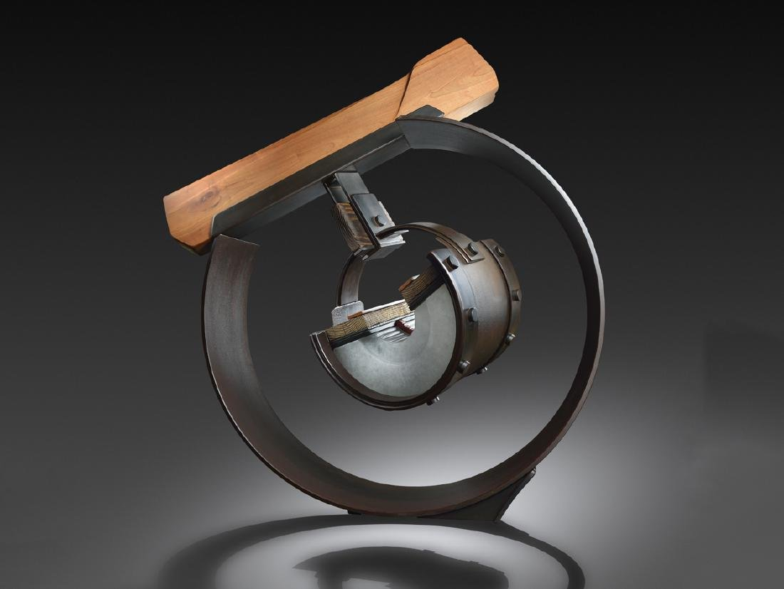 Sally Rogers Pendulum 2011 Art Glass Habatat Large
