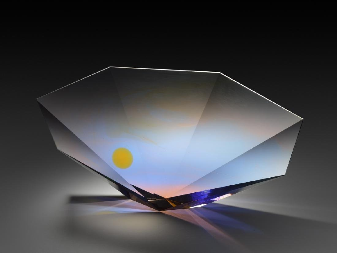 Mark Peiser Memories of Times Past 1992 Art Glass