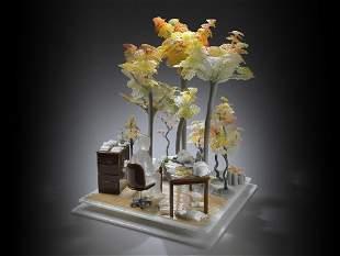 Emily Brock Day Dreamer 2012 Art Glass Habatat