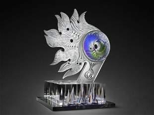 Eric Hilton Spires of Light 2009 Art Glass Habatat