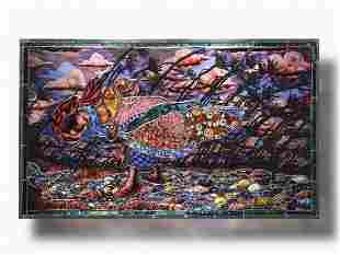 Judith Schaecter Walker on the Path 2004 Art Glass