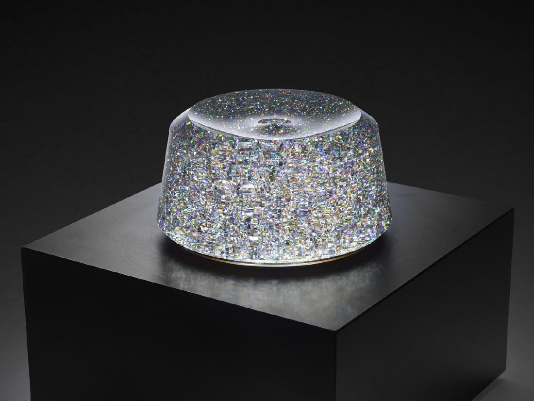 Jon Kuhn Light Treasure 2009 Art Glass Habatat Spinning