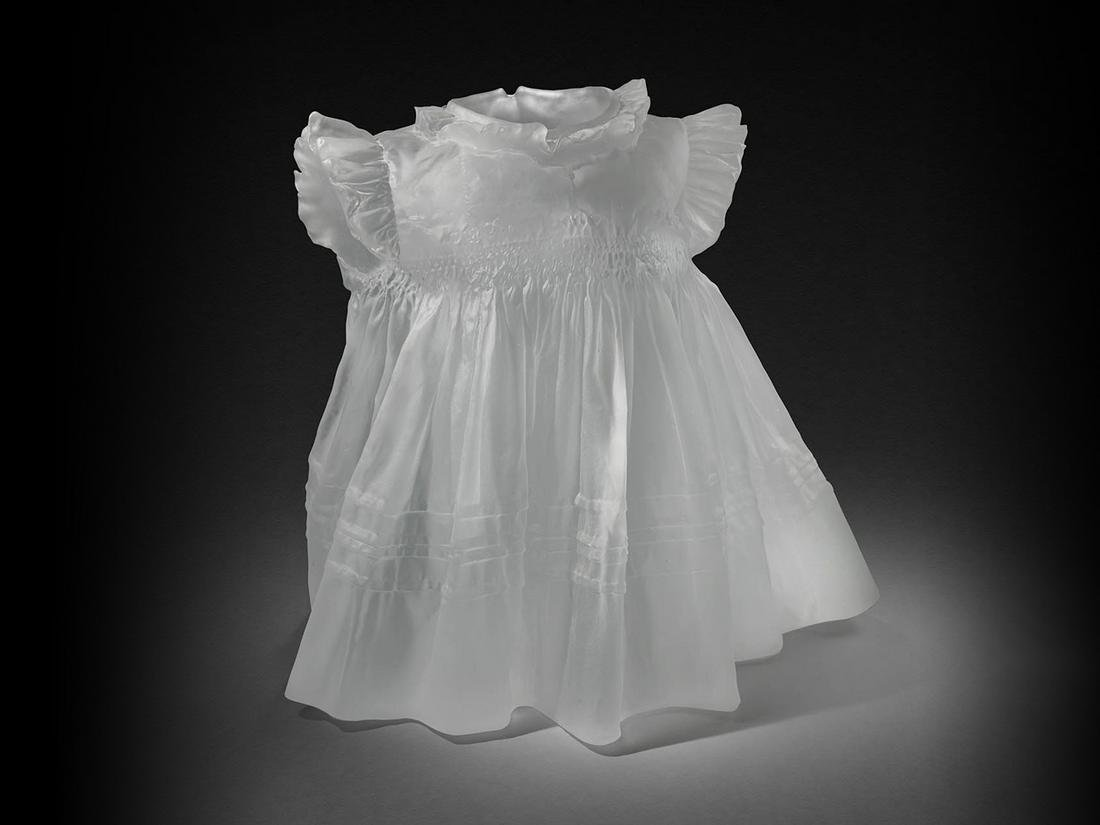Karen LaMonte Dress circa 2005 Art Glass Habatat