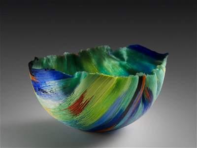 Toots Zynsky Objects de Decoration 1992 Art Glass