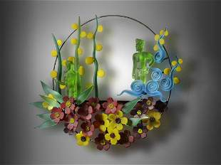 Richard Jolley Garden 2005 Art Glass Habatat