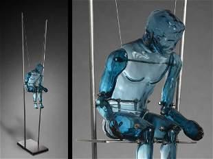 Simon Maberly Untitled ca 2005 Art Glass Habatat